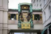 Reloj Anker, Viena — Foto de Stock
