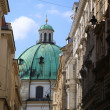 The Peterskirche (St. Peters Church) in Vienna, Austria. — Stock Photo #55283601