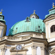 The Peterskirche (St. Peters Church) in Vienna, Austria. — Stock Photo #55284617
