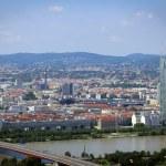 Panorama of Vienna City in Summer. — Stock Photo #58963687