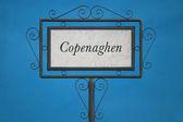 Copenaghen em uma tabuleta — Fotografia Stock