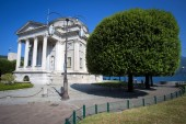 Volta Temple in Como, Italy — Stock Photo