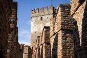 Castelvecchio in Verona, Italy — Stock Photo