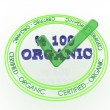 Round stamp Organic — Stock Photo #58623855