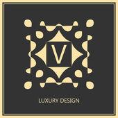 Vintage Emblem Template — Stock Vector