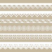 Paper laces — Stockvector
