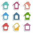 House icons — Stock Vector #67048187