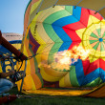 Ferrara Balloons Festival 2014 — Stock Photo #52925135