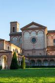 The monumental graveyard of Ferrara city — Stock Photo