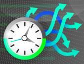 Colorful creative symbol. — Stock Vector