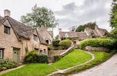Houses of Arlington Row in the village of Bibury — Stock Photo