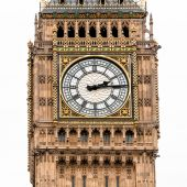 London Big Ben clock — Stock Photo