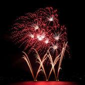 Multiple fireworks — Stock Photo