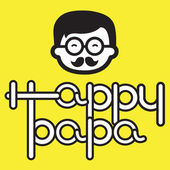 HAPPY PAPA — Stock Vector