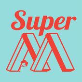 SUPER MOM — Stock Vector