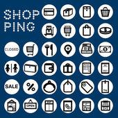 SHOPPING — Stock Vector