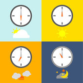 TIME TABLE — Stock Vector