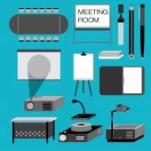 MEETING ROOM — Stock Vector