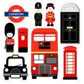 LONDON ICON — Stock Vector