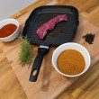 Meat grill — Stock Photo #56591275
