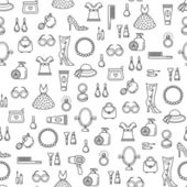 Woman's baubles — Wektor stockowy