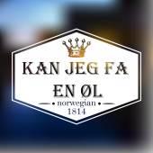 Beer logo Norway — Stock Vector