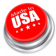 Made in the USA button — Stock Photo #53086295