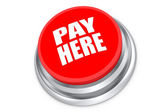 Pay here push button — Stock Photo