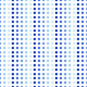 Squared blue seamless pattern. Vector background — Stock Vector