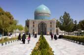 The shrine of Khwaja Rpiea — Stock Photo