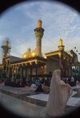 The shrine of Imam Moussa al Kadhim — Stock Photo