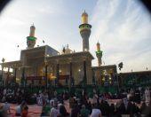 The shrine of Imam Moussa al Kadhim — Stockfoto