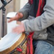 Street drummer    — Stock Photo #60669265