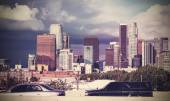 Vintage picture of Los Angeles, California.  — Stock Photo