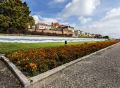Torun old medieval town on Vistula bank, Poland  — Stock Photo