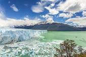 Perito Moreno Glacier in the Los Glaciares National Park, Argent — Foto de Stock