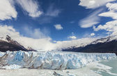 Perito Moreno Glacier in the Los Glaciares National Park. — Stock Photo