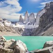 Torres del Paine mountains, Patagonia, Chile — Stock Photo #54820117