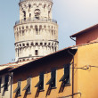 Vintage retro filtered picture of Leaning Tower in Pisa. — Stock Photo #58940677