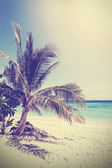 Vintage filtered picture of tropical beach. Koh Lipe in Thailand — Stock Photo