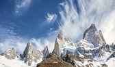 Fitz Roy Mountain Range in Patagonia, Argentina  — Stock Photo