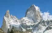 Mount Fitz Roy, Los Glaciares National Park, Patagonia, Argentin — Stock Photo