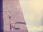 Retro vintage filtered urban abstract background with copyspace. — Stock Photo