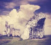 Ruinas y la formación rocosa — Foto de Stock