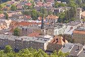 Vista panorâmica da cidade de bolkow, Polónia. — Fotografia Stock