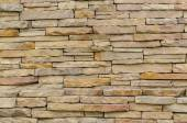 Patroon van moderne bakstenen muur opgedoken — Stockfoto