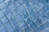 Slate texture vinyl flooring a popular choice for modern kitchen — Stock Photo