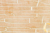 Old cracked and dilapidated yellow wall of a building — Stock Photo