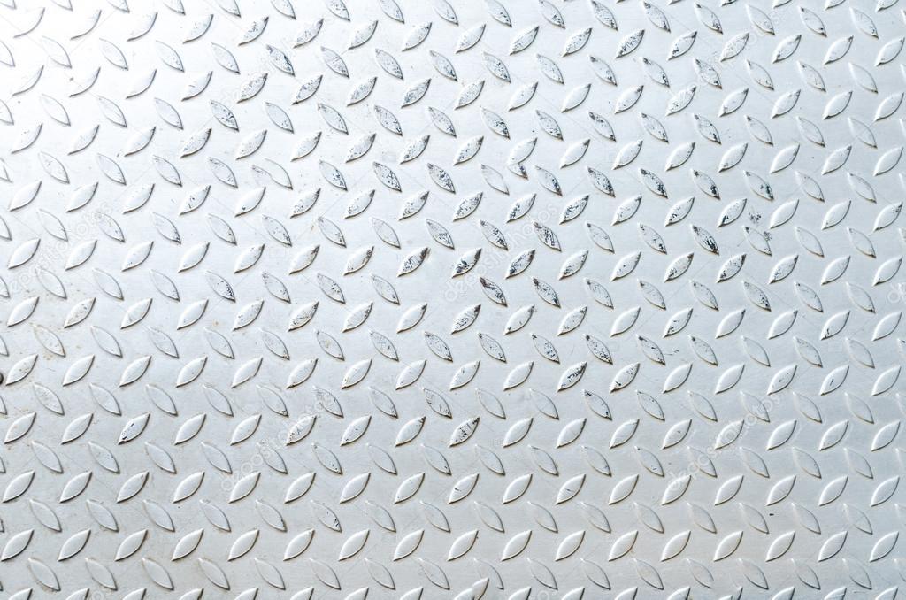 seamless steel diamond plate texture � stock photo