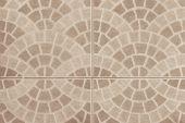 Brown marble stone mosaic texture — Stock Photo